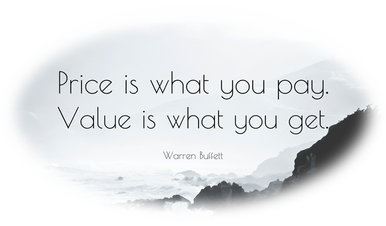 Price Is What You Pay Quote
