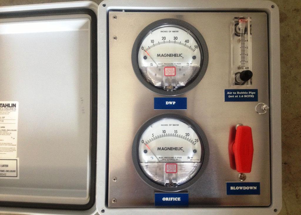 P 2 Pressure Mon Panel