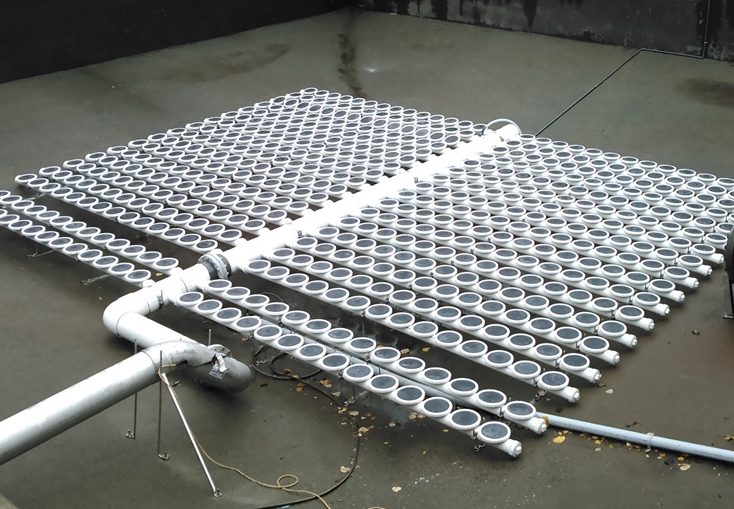 Aquarius fine bubble aeration system