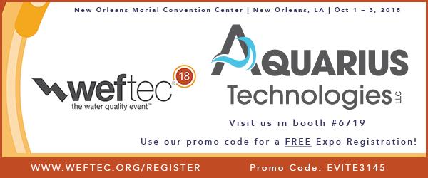 Aquariustechnologies,llc WEFTEC
